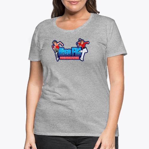 Rise FM Denmark Full Logo - Dame premium T-shirt