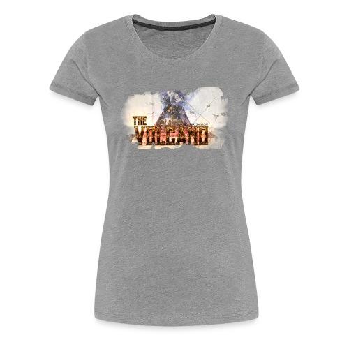 TheVolcano - Women's Premium T-Shirt