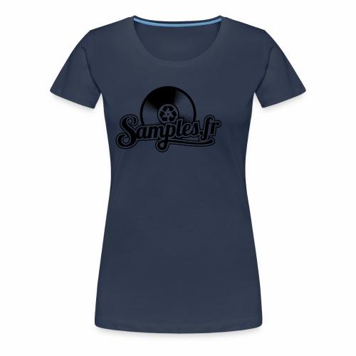 Gris / Noir (H / F) - T-shirt Premium Femme