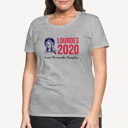 LOURDES 2020 - Women's Premium T-Shirt