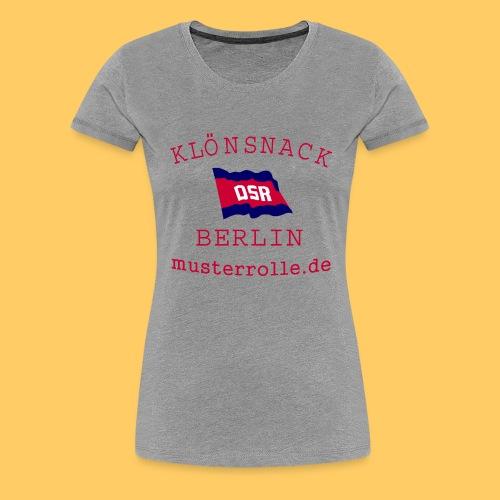 KiB-Logo-gif - Frauen Premium T-Shirt