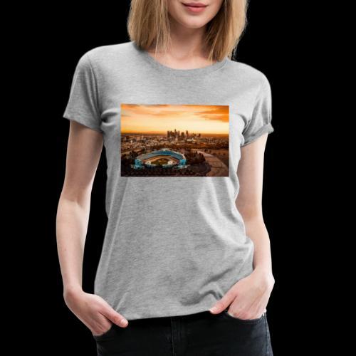 #phils.LA - Dodgers Stadion - Frauen Premium T-Shirt