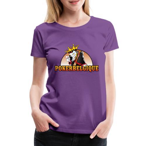 Logo Poker Belgique - T-shirt Premium Femme