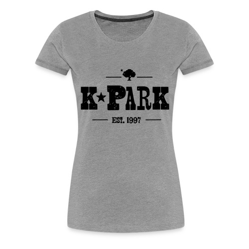 Hugging Trees plain - Frauen Premium T-Shirt