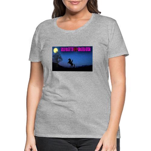 nightrider merch - Dame premium T-shirt