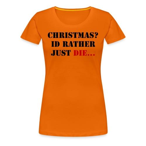 Christmas joy - Women's Premium T-Shirt