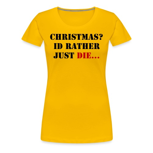 Christmas joy - Women's Premium T-Shirt