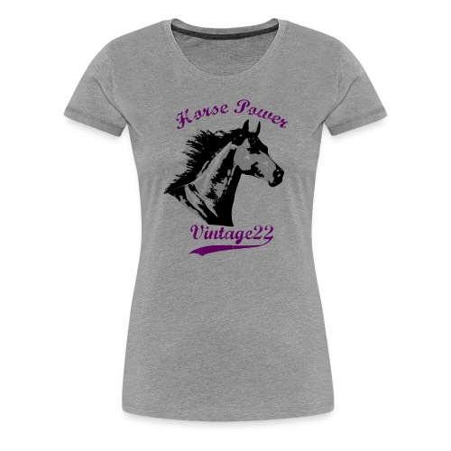 Horse Power Design - Women's Premium T-Shirt