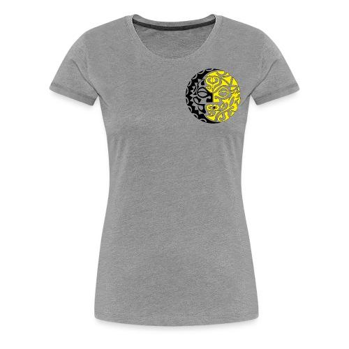 sole tribale - Maglietta Premium da donna