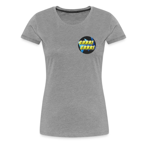Logo Sabai New 2 1 - T-shirt Premium Femme