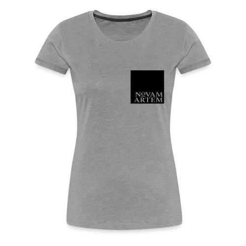 NOVAM ARTEM BLACK SQUARE - Dame premium T-shirt