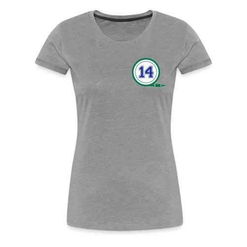 D14 Alt Logo - Women's Premium T-Shirt