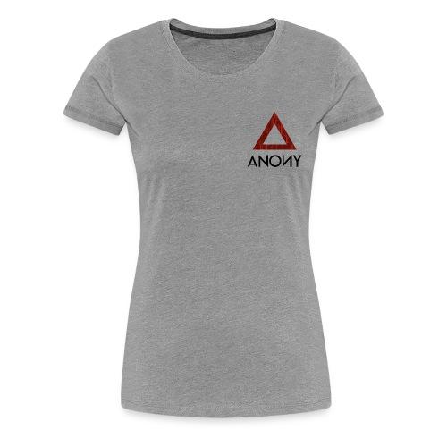 Anony Logo - Camiseta premium mujer
