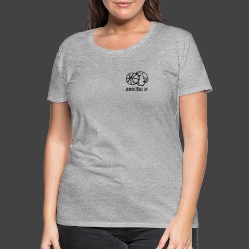 BAKSETBALL LOGO - Frauen Premium T-Shirt