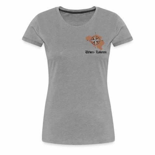 eerste tshirt urbexlokeren - Vrouwen Premium T-shirt