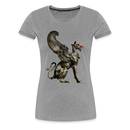 Griffen 3D - Frauen Premium T-Shirt