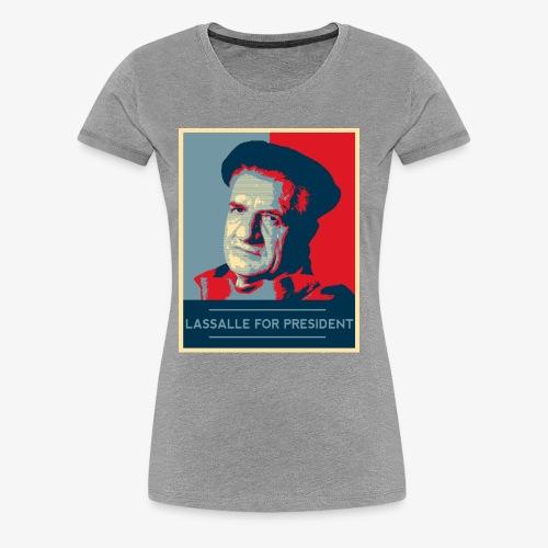 Lassalle-Obama For President - T-shirt Premium Femme
