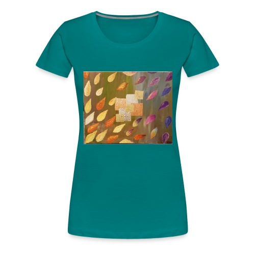 gold copper silver - Women's Premium T-Shirt