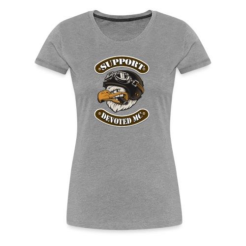 T-Shirt DEVOTEDMC SUPPORTSHOP10003 - Premium T-skjorte for kvinner