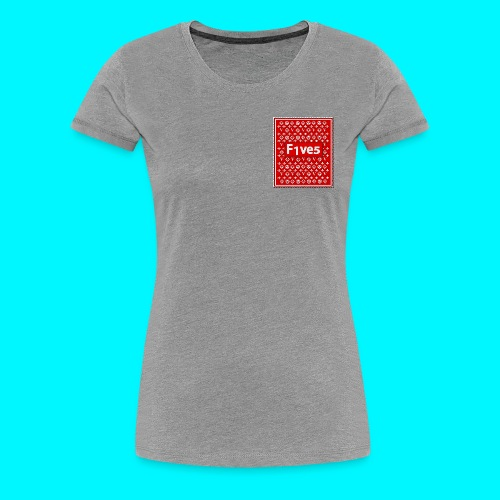 FIVES patch - T-shirt Premium Femme