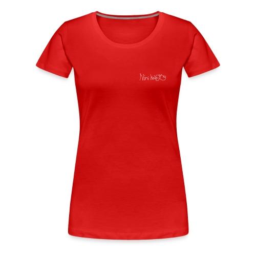 Nini Kalo Signature Logo - Frauen Premium T-Shirt