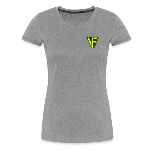 Virtual Farmer VF Logo - Women's Premium T-Shirt