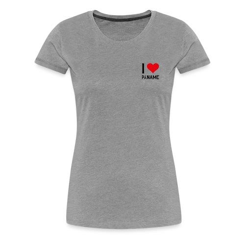 I love Paname - T-shirt Premium Femme