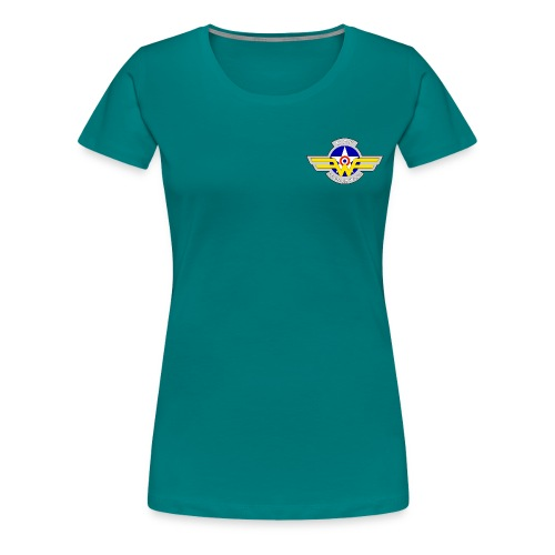 Logo French Wing - T-shirt Premium Femme