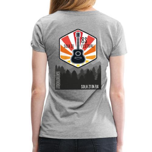 Sola21Cover - Frauen Premium T-Shirt
