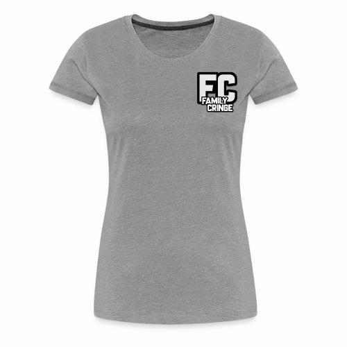 FAMILY CRINGE - Premium-T-shirt dam