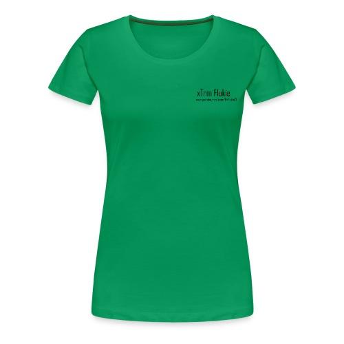 xTrm Flukie - Women's Premium T-Shirt