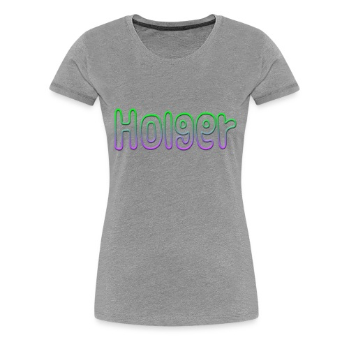 Holger - Dame premium T-shirt