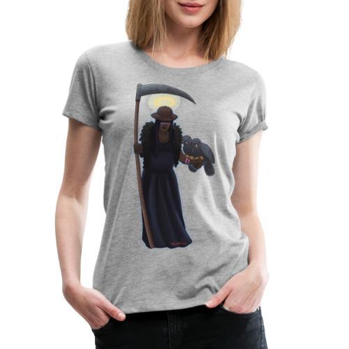 Malaria falciparum - schwarze Dame mit Sichel - Frauen Premium T-Shirt