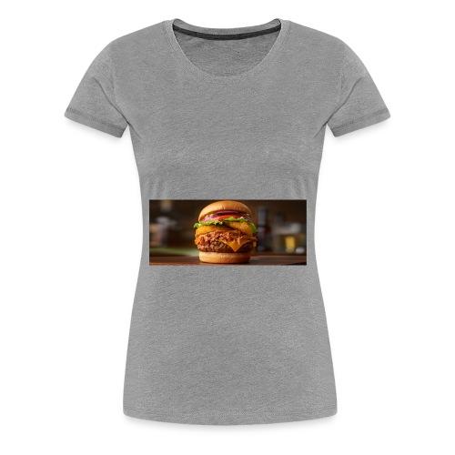 Burger - Dame premium T-shirt