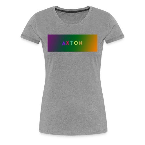 Axton tie dye - Dame premium T-shirt