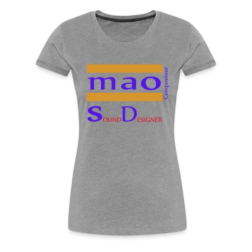 design boutique mao compo - T-shirt Premium Femme
