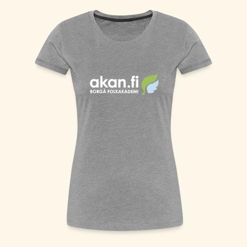 Akan White - Women's Premium T-Shirt