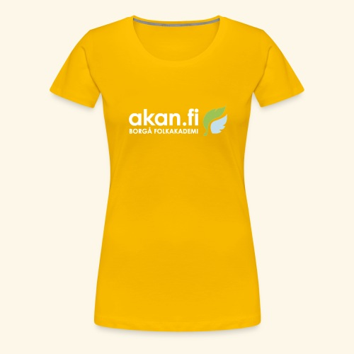Akan White - Women's Premium T-Shirt