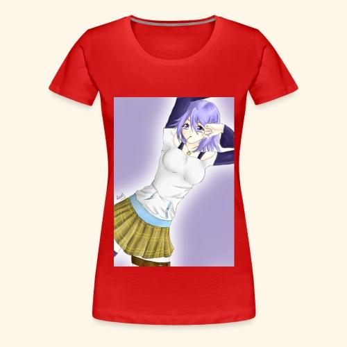 Mizore Shirayuki - Women's Premium T-Shirt