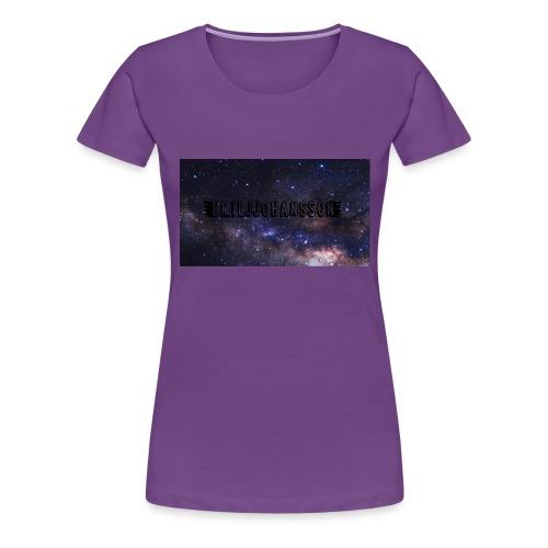 EMILJJOHANSSON - Premium-T-shirt dam