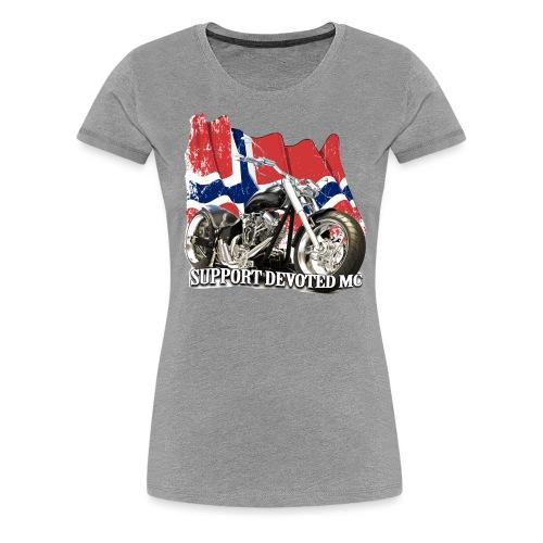 SUPPORT STREETWARE FLAG1 - Premium T-skjorte for kvinner