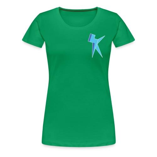 K Vlogs Logo - Vrouwen Premium T-shirt
