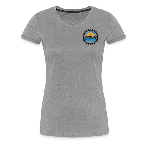 Guernsey Rouleurs Small Logo - Women's Premium T-Shirt