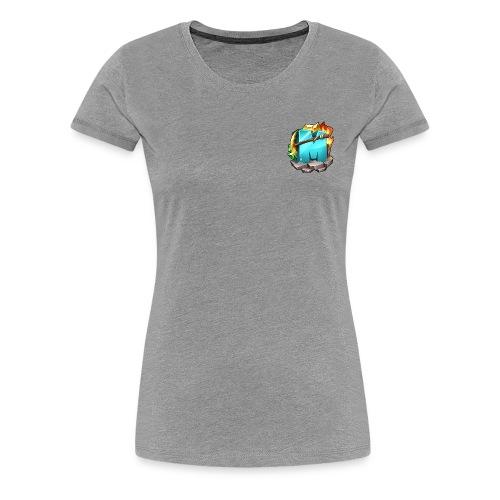 Kleines Logo - Frauen Premium T-Shirt