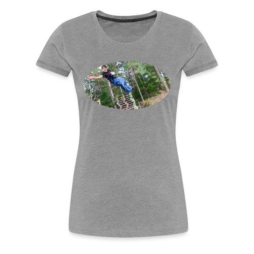 woods - Premium-T-shirt dam