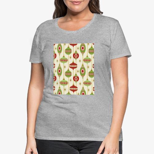 Motif Coloré & étoilé - T-shirt Premium Femme