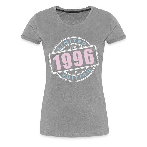 LIMITED EDITION SINCE 1996 - Frauen Premium T-Shirt