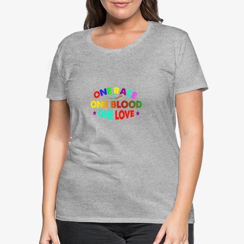 One Love reggae - Women's Premium T-Shirt