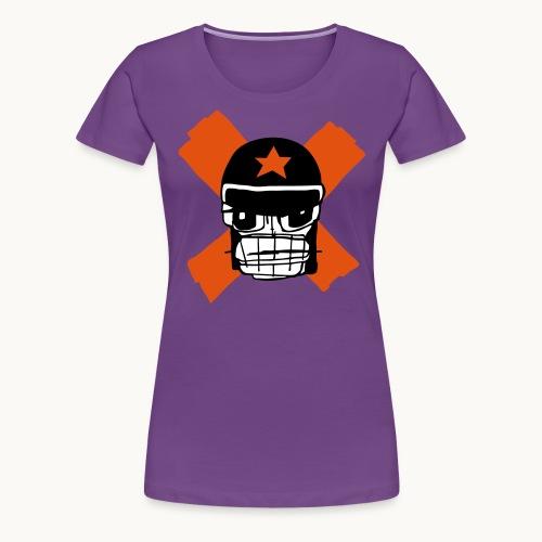 Motard Micky Biker - T-shirt Premium Femme