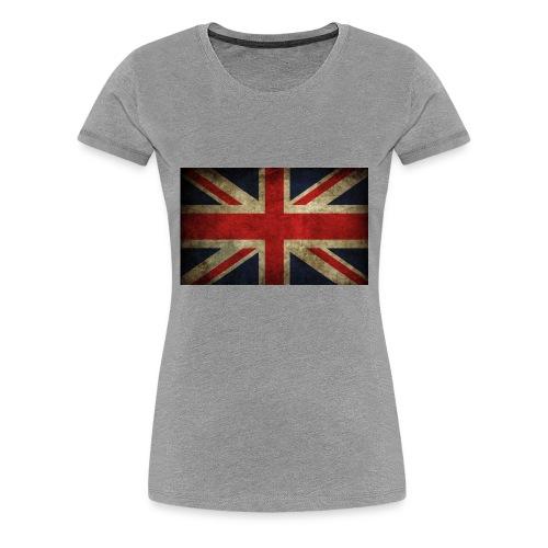 Union Jack - Premium-T-shirt dam